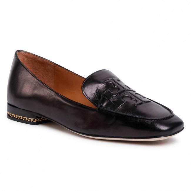 Lordsy TORY BURCH - Ruby 15Mm Loafer-Goat Leather 74084 Perfect Black 006