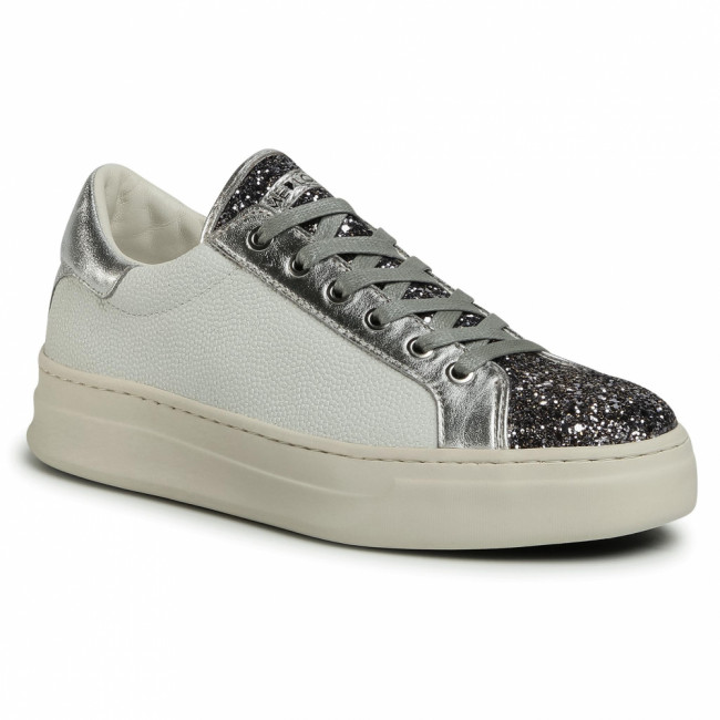 Sneakersy CRIME LONDON - Low Top Classic 25808AA3.25 Silver