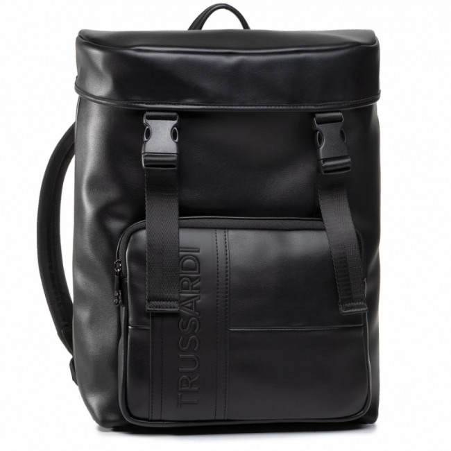 Ruksak TRUSSARDI JEANS - Courmayeur Backpack Md Smooth 71B00223 K299