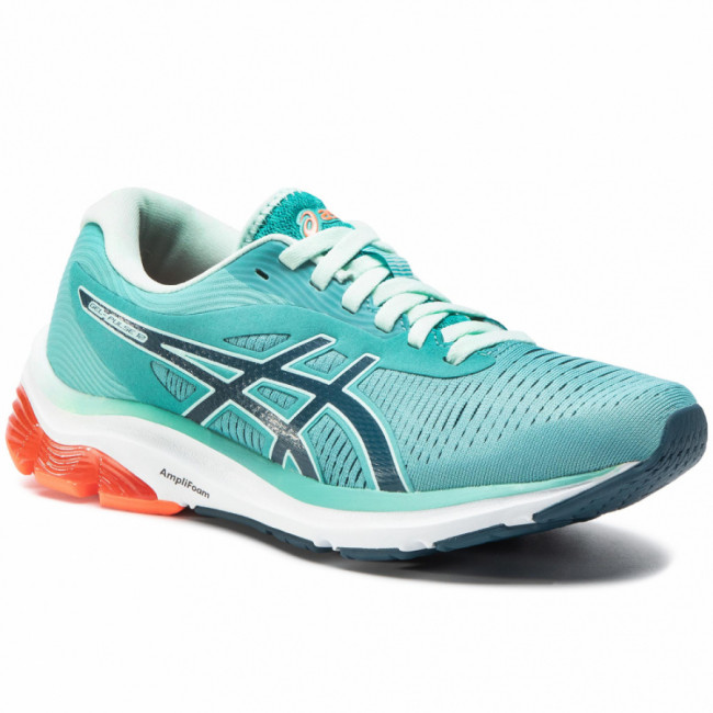 Topánky ASICS - Gel-Pulse 12 1012A724 Techno Cyan/Magnetic Blue 300