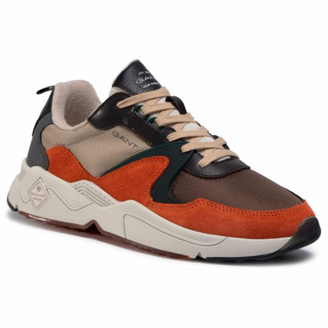 Sneakersy GANT - Nicewill 21633872 Burnt Orange/Dry Sand G436