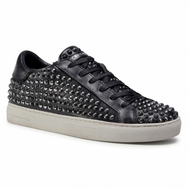 Sneakersy CRIME LONDON - Low Top Essential 11610AA3.20 Black