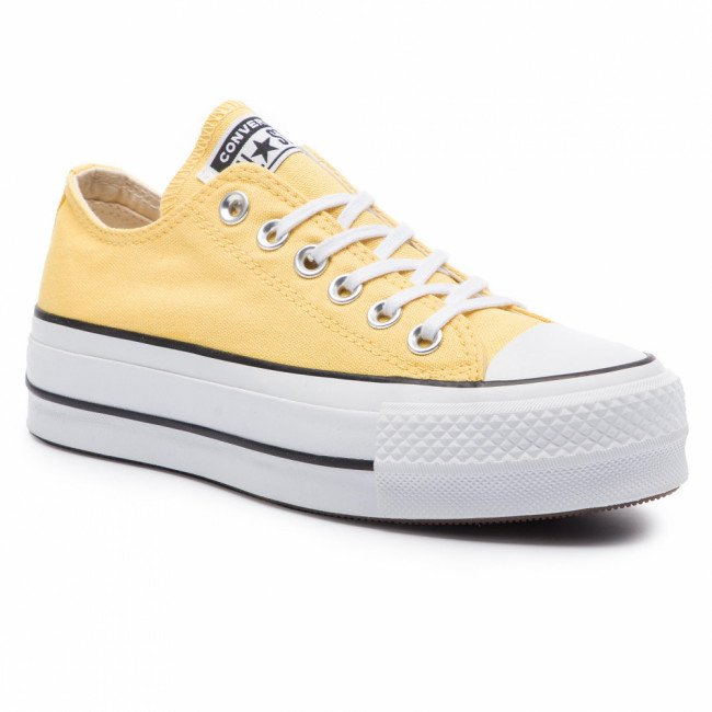 Tramky CONVERSE - Ctas Lift Ox 564385C Butter Yellow/Black/White
