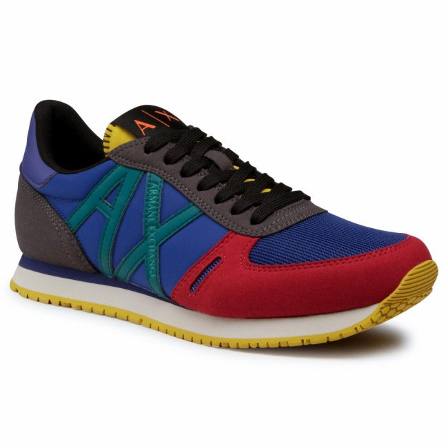 Sneakersy ARMANI EXCHANGE - XUX017 XCC68 A500 Multicolor