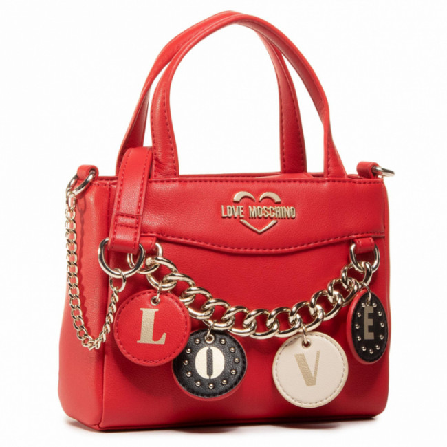 Kabelka LOVE MOSCHINO - JC4227PP0BKD0500 Rosso