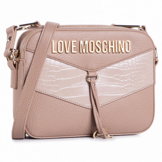 Kabelka LOVE MOSCHINO - JC4288PP0BKP120A Taupe