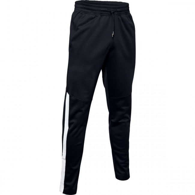 Tepláky Under Armour Athlete Recovery Knit Warm Up Bottom-Bla