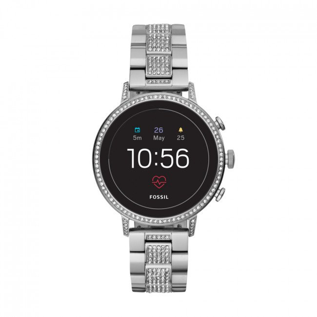 Smart hodinky FOSSIL - Venture Hr FTW6013 Silver/Silver