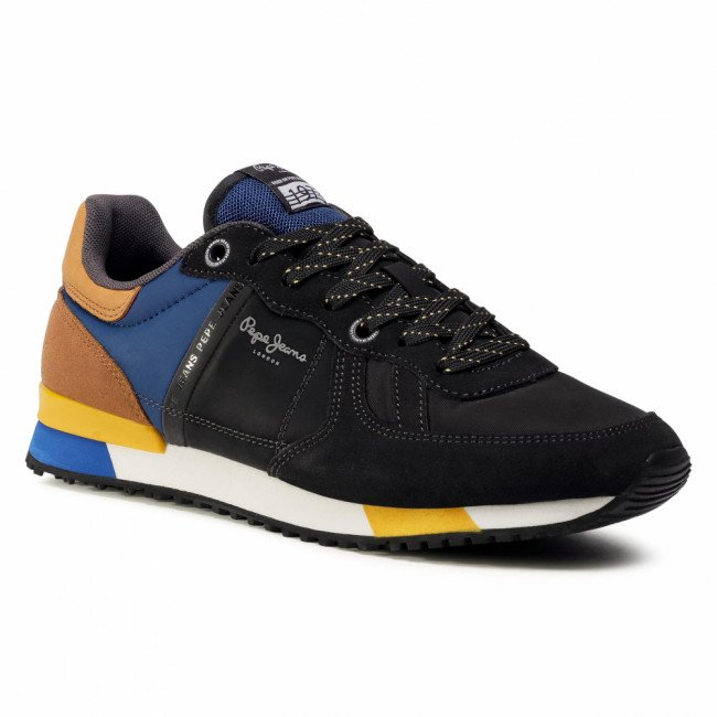 Sneakersy PEPE JEANS - Tinker Zero Second PMS30659  Antracite 982