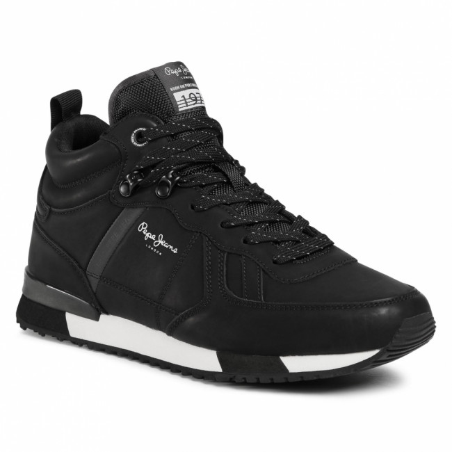 Sneakersy PEPE JEANS - Tinker Boot Basic PMS30662 Black 999