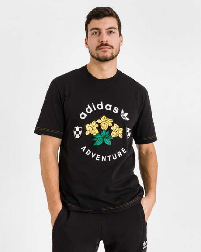 adidas Originals Adventure Graphic Tričko Modrá