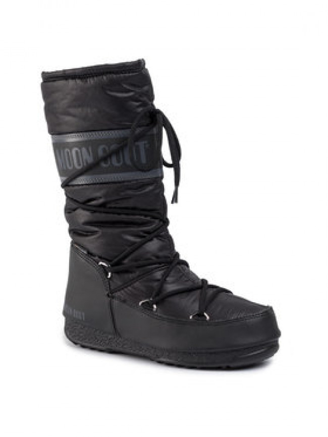 Moon Boot Snehule High Nylon Wp 240091001 Čierna