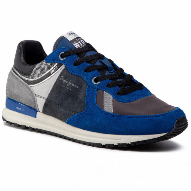 Sneakersy PEPE JEANS - Tinker Pro 73 Edt PMS30657 Blue 539