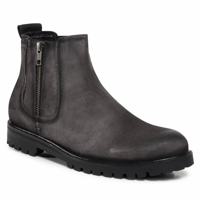 Outdoorová obuv PEPE JEANS - Melting Chelsea PMS50194 Antracite 982