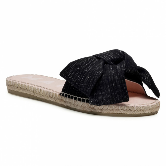 Espadrilky MANEBI - Sandals With Bow G 0.1 J0 Sparkling Black