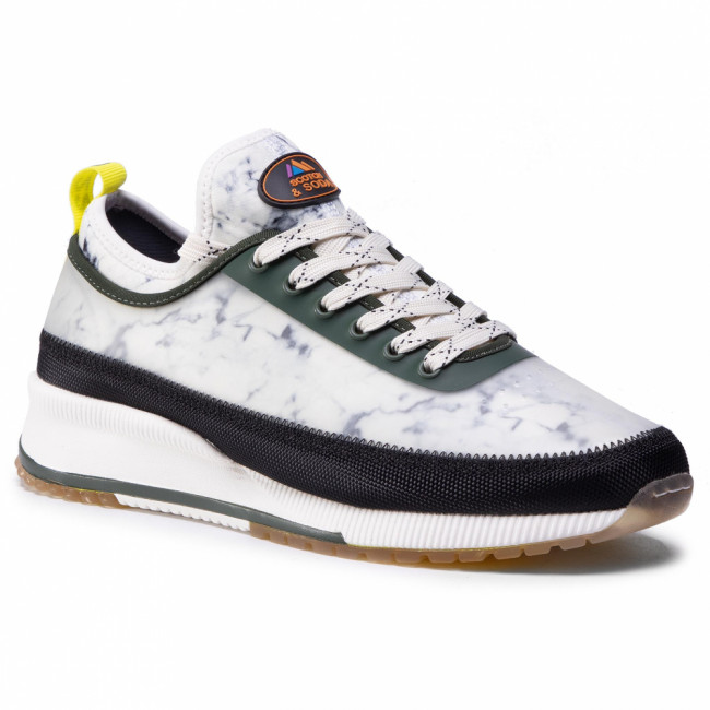 Sneakersy SCOTCH & SODA - Vivex 21839220 Marble Green S703