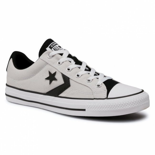 Tramky CONVERSE - Star Player Ox Mou 168528C Mouse/Black/White