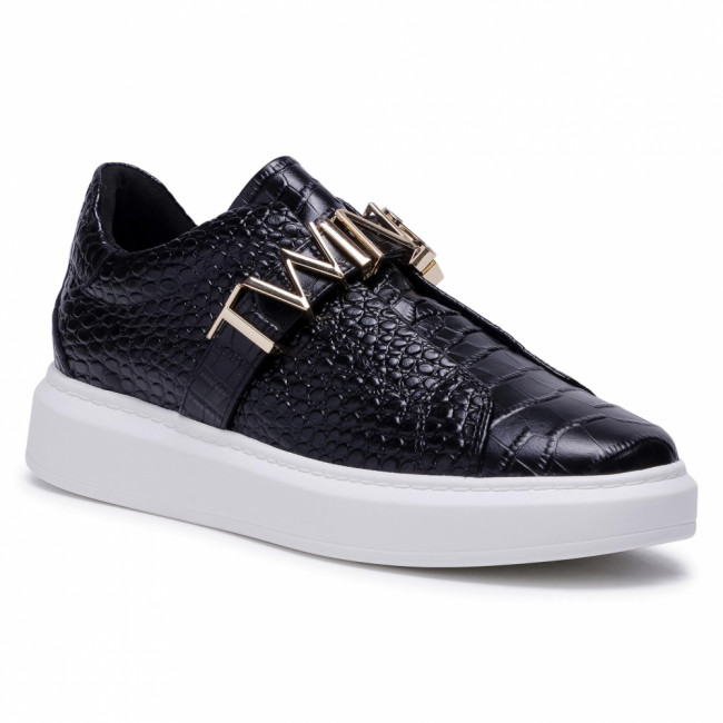 Sneakersy TWINSET - 202TCP034  St.Cocco Nero 04291