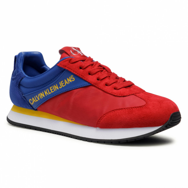Sneakersy CALVIN KLEIN JEANS - Jerrold S0615  Racing Red/Nautical