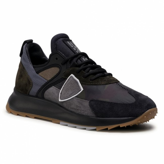 Sneakersy PHILIPPE MODEL - Royale RLLU CC02 Camouflage Militaire