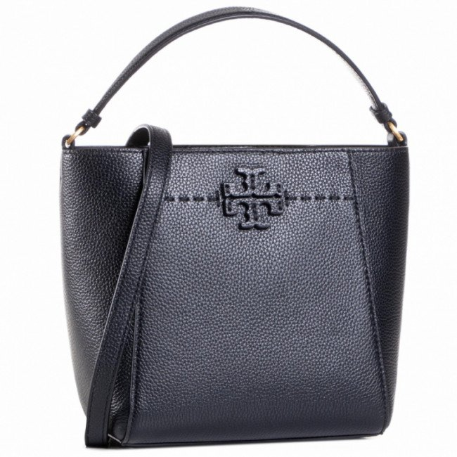 Kabelka TORY BURCH - Mcgraw Small Bucket 74956 Black 001