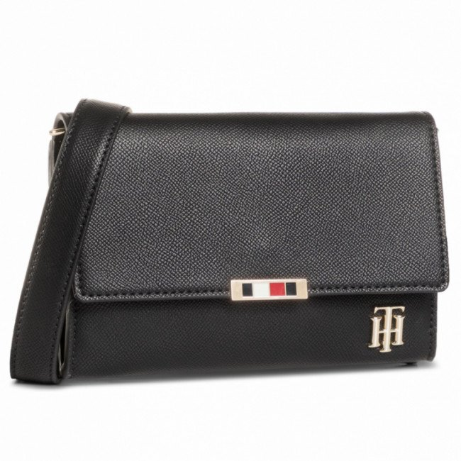Kabelka TOMMY HILFIGER - Saffiano Crossover AW0AW08534 BDS