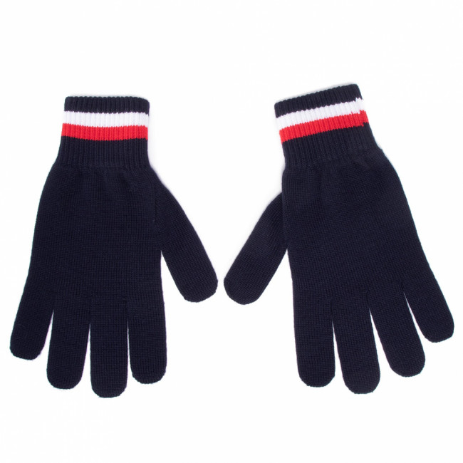 Rukavice Pánske TOMMY HILFIGER - Corporate Gloves AM0AM06586 DW5