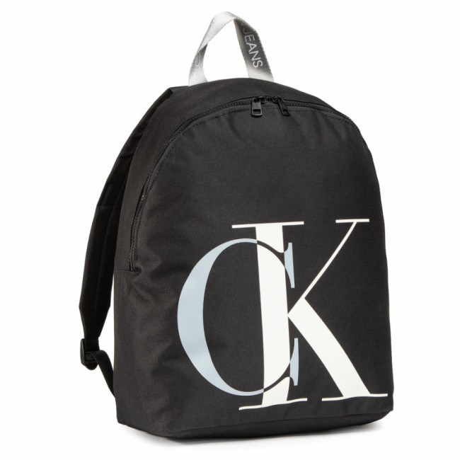 Ruksak CALVIN KLEIN JEANS - Exploded Monogram Backpack IU0IU00152 BLK