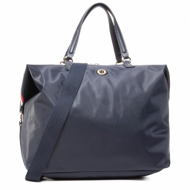 Kabelka TOMMY HILFIGER - Poppy Weekender Corp AW0AW08828 BLU