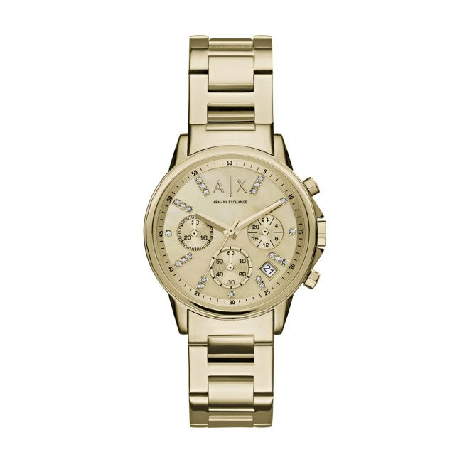 Hodinky ARMANI EXCHANGE - Lady Banks AX4327  Gold/Gold