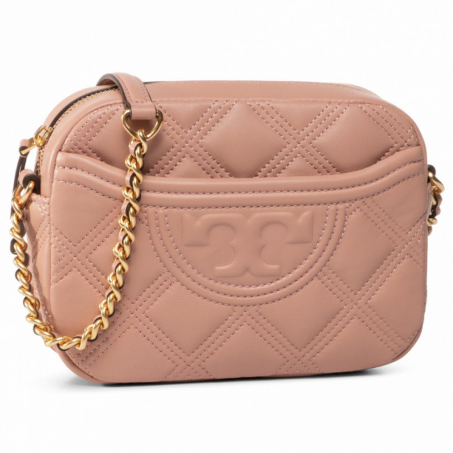 Kabelka TORY BURCH - Fleming Soft Camera Bag 62091 Pink Moon 689