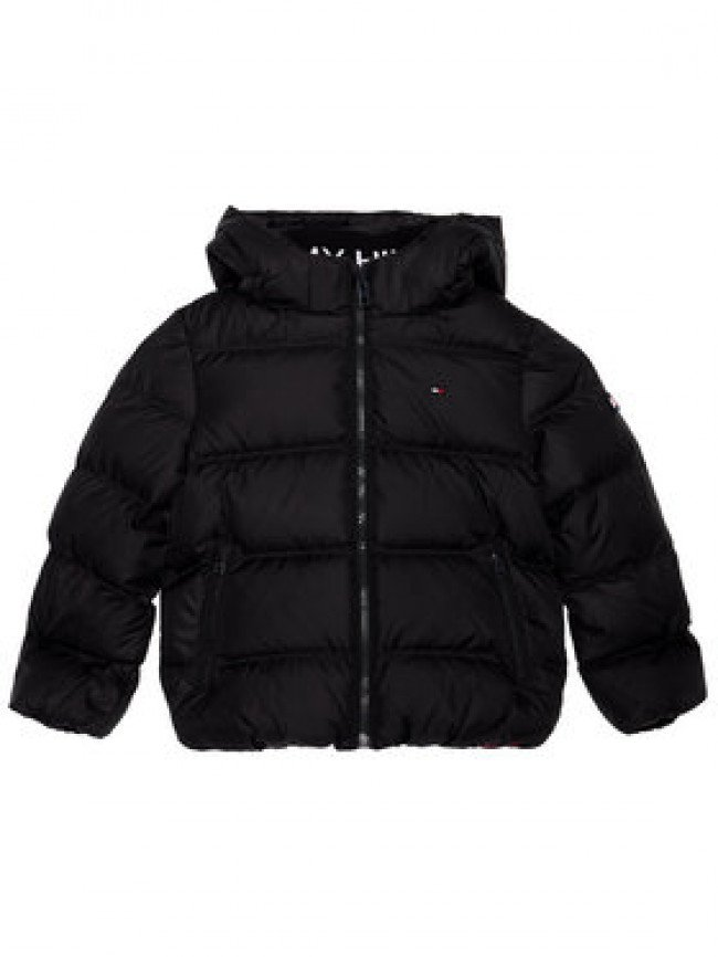 Tommy Hilfiger Vatovaná bunda Essential Down KB0KB05879 M Čierna Regular Fit