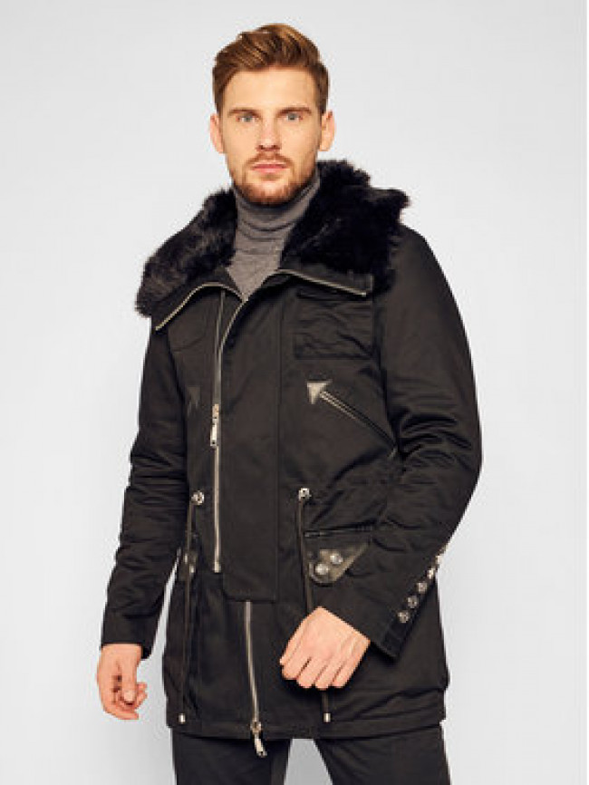 Rage Age Parka Black Shadow Čierna Regular Fit