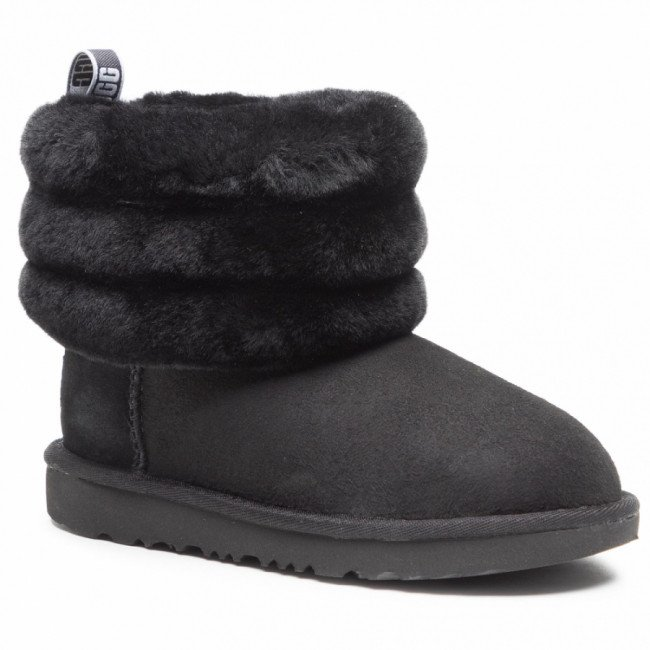 Topánky UGG - T Fluff Mini Quilted 1103612K Blk