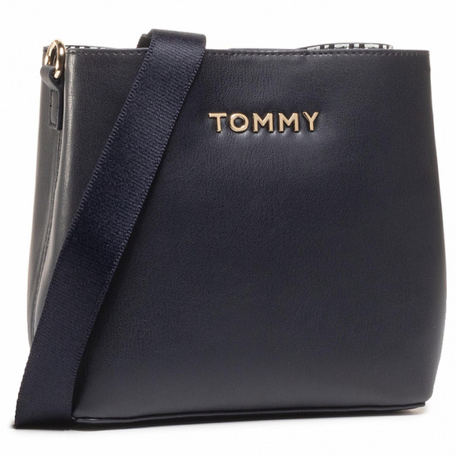 Kabelka TOMMY HILFIGER - Iconic Tommy Crossover AW0AW08627 BLU