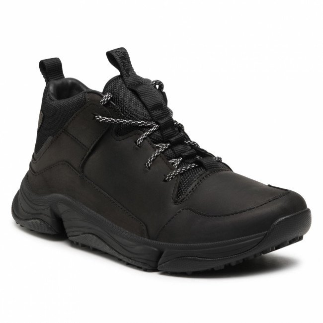 Sneakersy CLARKS - Tri Path Up 261554517 Black Leather