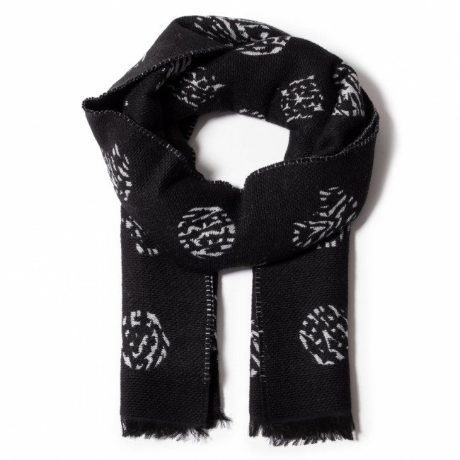 Šál GUESS - Not Coordinated Scarves AW8491 WOL03  BLA