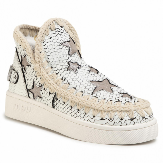 Topánky MOU - Summer Eskimo Sneaker With Stars Whibk