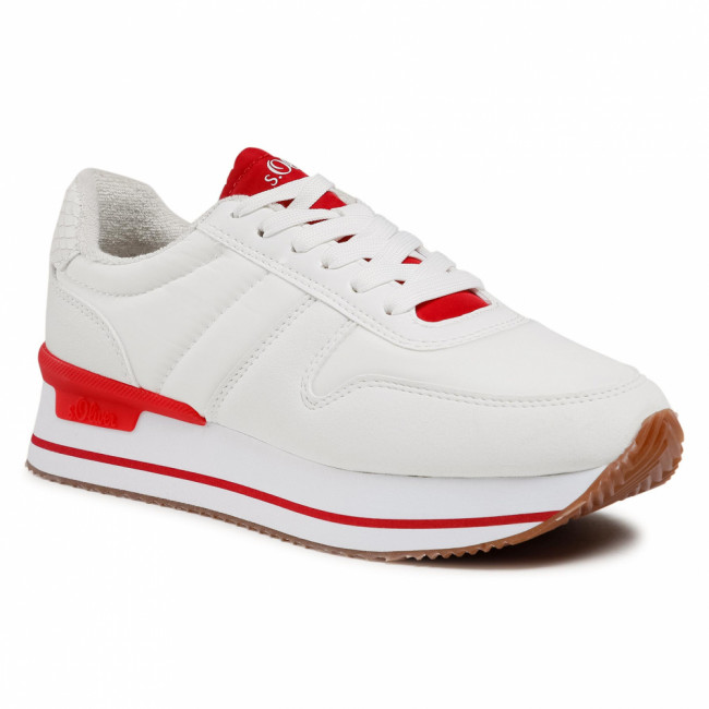 Sneakersy S.OLIVER - 5-23612-36 White Comb. 110