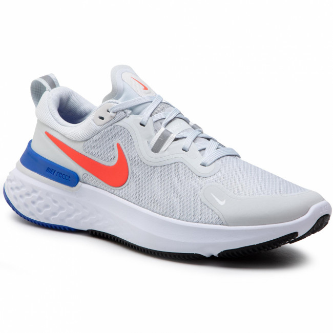 Topánky NIKE - React Miler CW1777 008 Pure Platinum/Bright Crimson