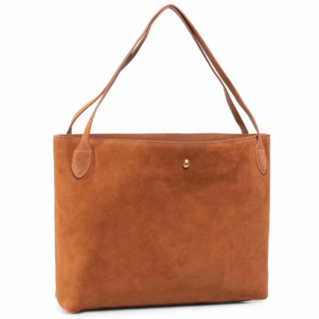 Kabelka COCCINELLE - Gba Cocci Suede E1 GBA 11 02 01  Caramel W03