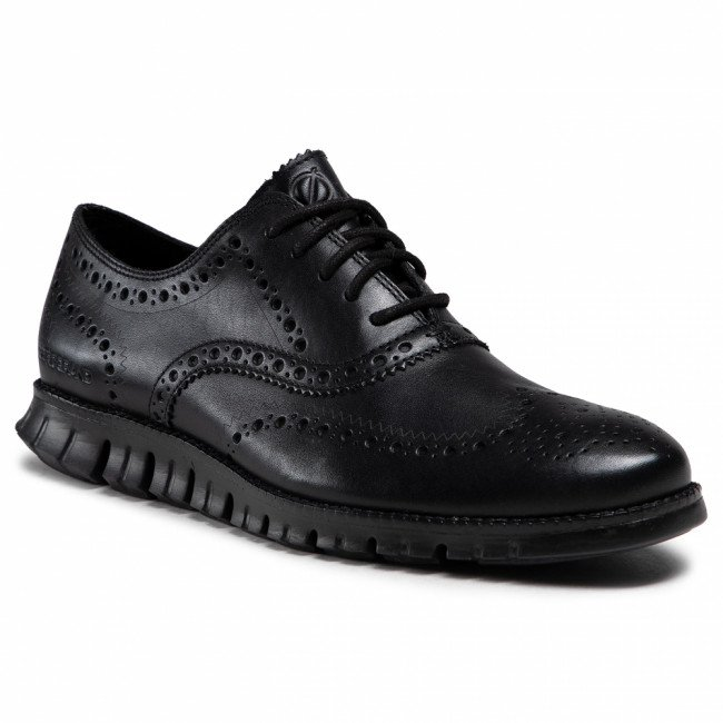 Poltopánky COLE HAAN - Zerogrand Wing Ox C20719 Blk Clsd Ho Blk