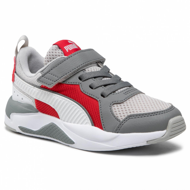 Sneakersy PUMA - X-Ray Ac Ps 372921 07 Gray/White/Ultra Gray/Red