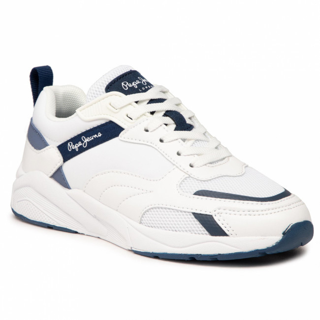 Sneakersy PEPE JEANS - Orbital 2.0 Action PBS30480 White 800