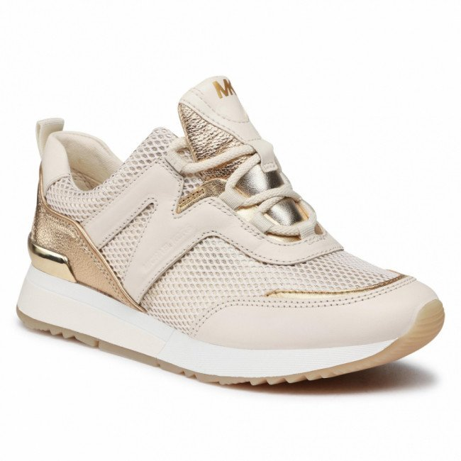 Sneakersy MICHAEL MICHAEL KORS - Pippin Trainer 43R1PIFS2M  Pale Gold 740