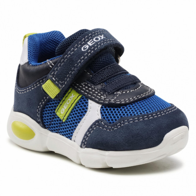 Sneakersy GEOX - B Pillow B. A B154EA 02214 C0749 Navy/Lime