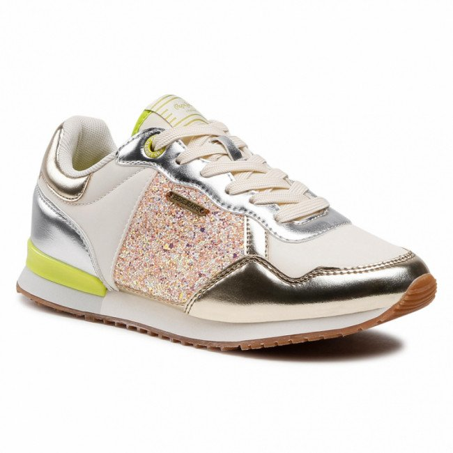 Sneakersy PEPE JEANS - Archie Cute PLS31107 Factory White 801