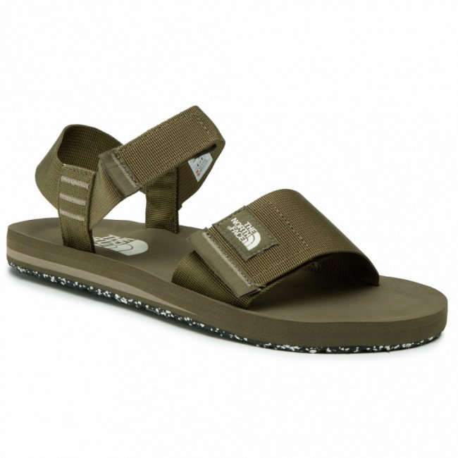 Sandále THE NORTH FACE - Skeena Sandal NF0A46BGZH4 Military Olive/Mineral Grey