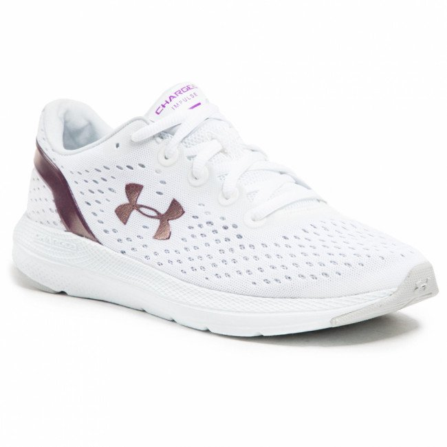 Topánky UNDER ARMOUR - Ua W Charged impulse Shift 3024444-100 Wht