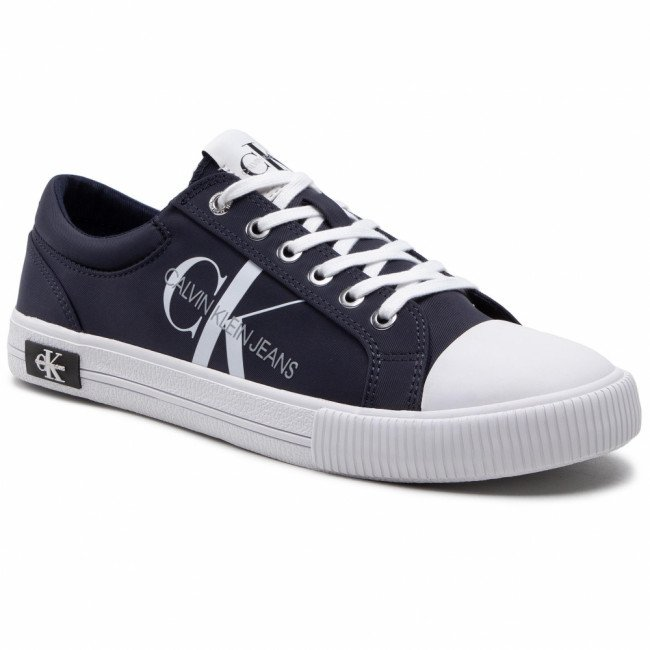 Tramky CALVIN KLEIN JEANS - Vulcanized Sneaker Laceup Pes YM0YM00015 Night Sky CHW